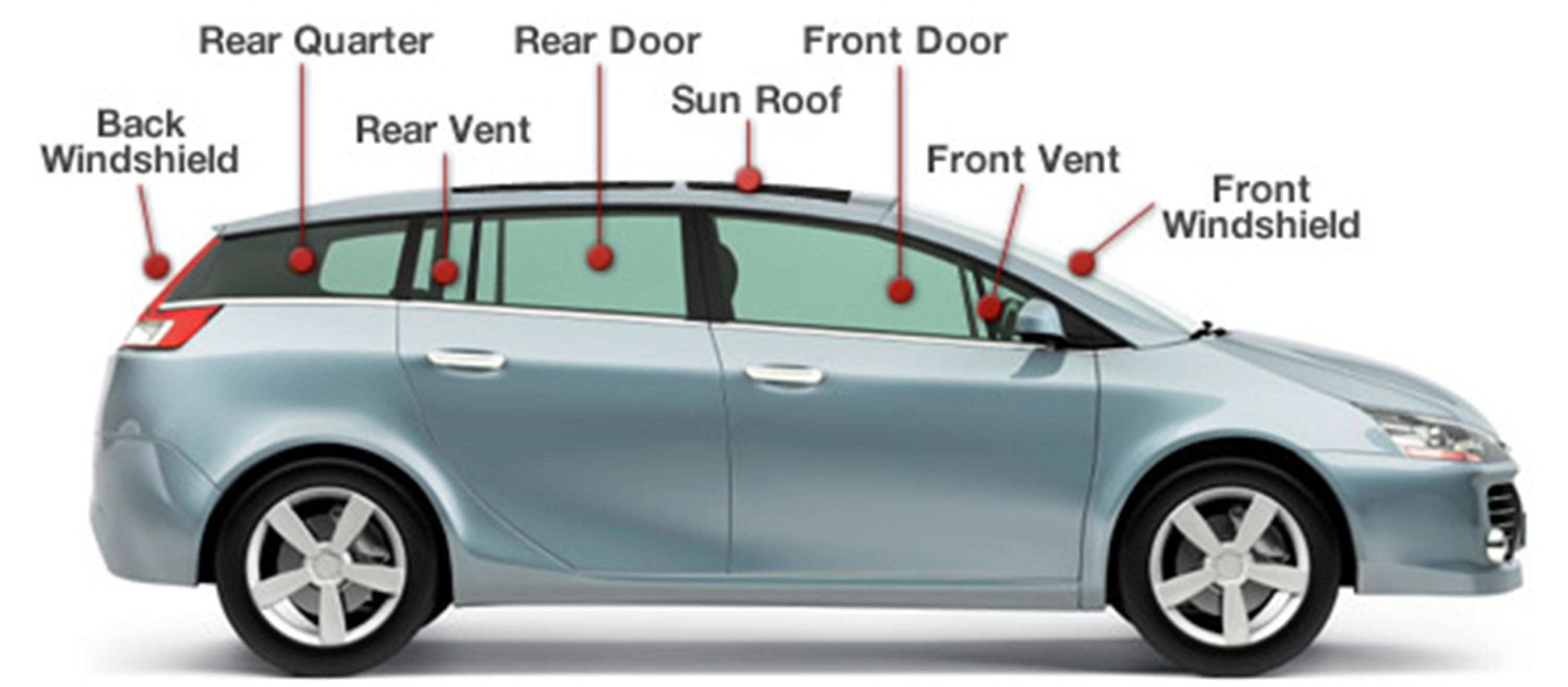 Parts Of A Car Front Windshield